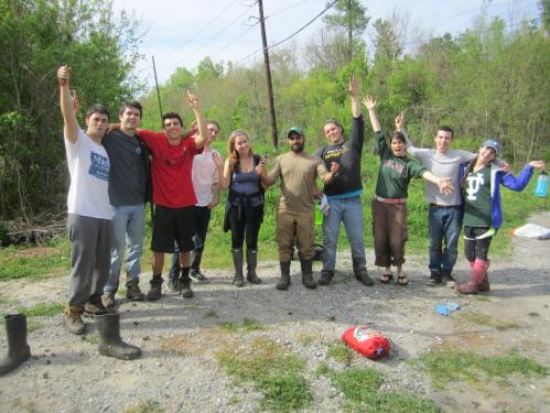 Day 2 Tulane crew